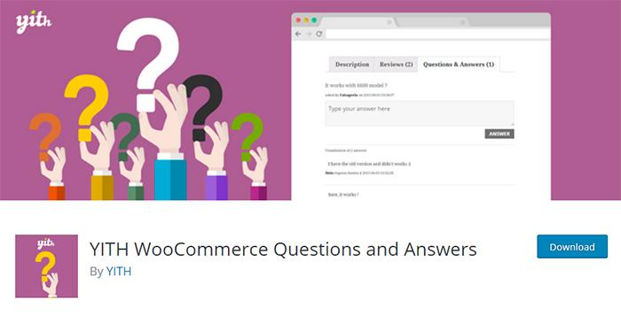 YITH WooCommerce Preguntas y respuestas