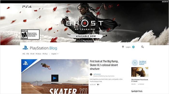 Blog de Playstation