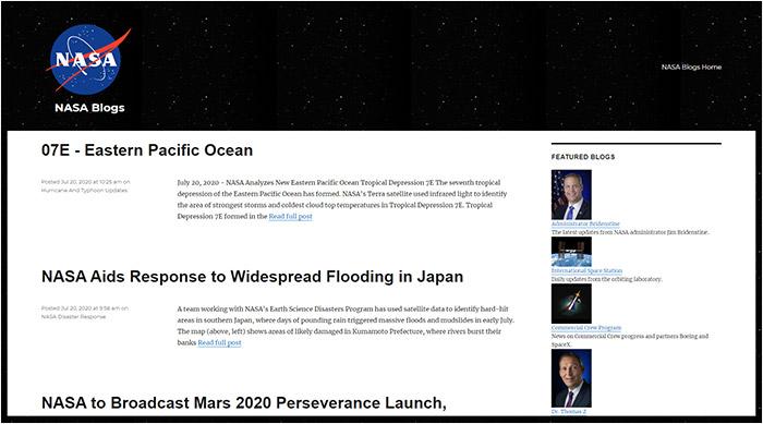 Blogs de la NASA
