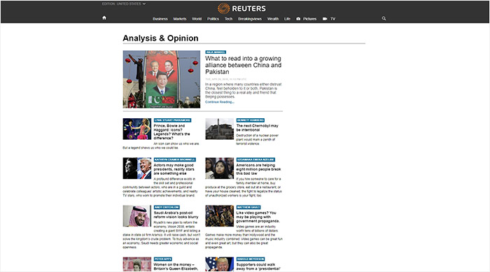 Blogs de Reuters