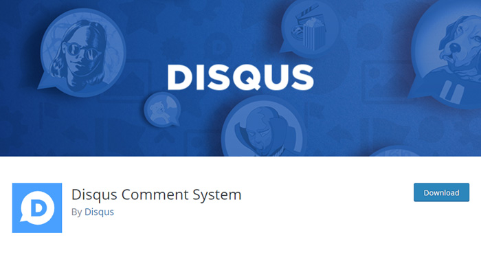 Sistema de comentarios Disqus